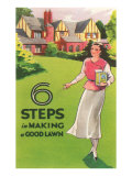 Six Steps in Making a Good Lawn