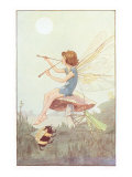 Fairy with Pipes and Insects