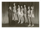 Beauty Pageant Posing