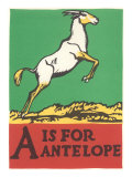 A is for Antelope