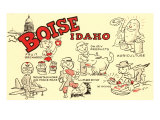 Boise  Idaho  Cartoons