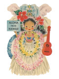 Aloha from Hawaii  Doll with Ukulele
