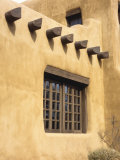 Adobe Architecture  Santa Fe  New Mexico  USA