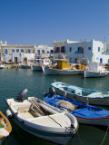 Fishing Boats in Naoussa  Paros  Greece