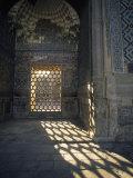 Hexagon Patterned  Registan  Samarkand  Uzbekistan