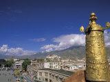 Potala Palace from Jokhang Temple  Lhasa  Tibet