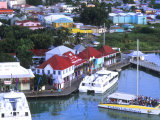 Aerial View  St John  Antigua
