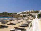 St Stefanos Beach  Mykonos  Greece
