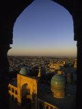 View of Kalyan Mosque Bukhara  Uzbekistan