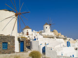Mountain Cliffs Oia  Santorini  Greece