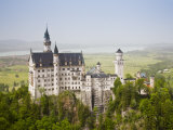 Neuschwanstein Castle  Schwangau  Deutsche Alpenstrasse  Bayern-Bavaria  Germany