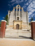 Gateway Before Spanish Colonial Church  Valladolid  Yucatan  Mexico