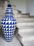 Mexican Ceramic Pot Decoration  San Miguel  Guanajuato State  Mexico