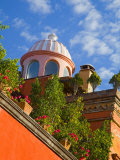 Dome of A Church  San Miguel De Allende  Guanajuato State  Mexico