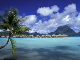 Bora Bora Nui Resort bungalows  Moto Toopua  French Polynesia