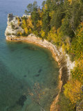 Miner&#39;s Castle overlook on Lake Superior  Munising  Upper Peninsula  Michigan  USA