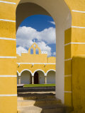 Franciscan Convent of San Antonio De Padua  Izamal  Yucatan  Mexico
