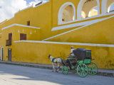 Horse Drawn Carriages  Izamal  Yucatan  Mexico