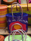 Reunion-made handbags  Seafront Market  St-Paul  Reunion Island  France