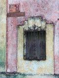 Colorful Window and Wall  Merida  Yucatan  Mexico