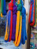 Colorful Hammocks on Display  San Miguel  Guanajuato State  Mexico
