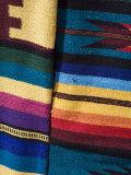Colorful Blankets in the Artisans Market  Progreso  Yucatan  Mexico