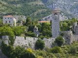 Historic Site  Stari  Bar  Montenegro