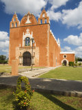 San Anonio De Padua Cathedral  Ticul  Yucatan Peninsula  Mexico