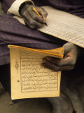 Student Copying the Koran  Djenne  Mali  West Africa