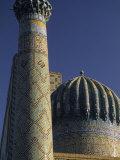 Sher Dor Madrasa  Registan  Samarkand  Uzbekistan