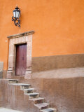 Stairs Leading In  San Miguel  Guanajuato State  Mexico
