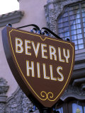 Beverly Hills Sign  Hollywood  California  USA