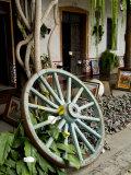 Wagon Wheel  La Posada De Don Rodrigo Hotel  Antigua  Guatemala