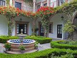Courtyard of A Villa  San Miguel  Guanajuato State  Mexico