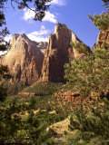 Court of The Patriarchs  Zion National Park  Utah  USA