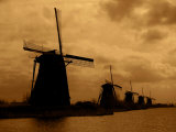 19 Historic Windmills  Kinderdijk  Netherlands