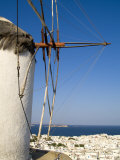 Traditional Windmill  Mykonos  Greece