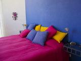 Colorful Bedroom  San Miguel  Guanajuato State  Mexico