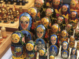 Wooden Nesting Dolls  Moscow  Russia