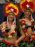 Native Dancers  Huahine  Tahiti  French Polynesia  Oceania