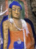 Buddha on Rock  Sakyamuni  Lhasa  Tibet