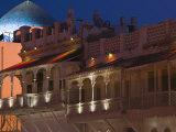 Restored Merchant Buildings  Mutrah Corniche  Muscat  Oman