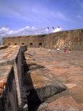 Famous El Morro Castle  Old San Juan  Puerto Rico