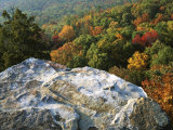 Autumn at White Rocks  Ozark-St Francis National Forest  Arkansas  USA