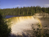 Lady Evelyn Falls Territorial Park  Northwest Territories  Canada