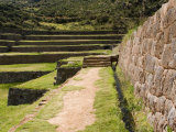 Inca Site of Tipon  Cusco  Peru
