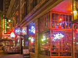 Restaurants in the Belltown  Elliott Bay  Seattle  Washington  USA