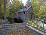 Cable Mill in Cades Cove  Great Smoky Mountains National Park  Tennessee  USA