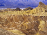 View from Zabriskie Point  Death Valley National Park  California  USA
