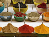 Colorful Spices at Bazaar  Luxor  Egypt